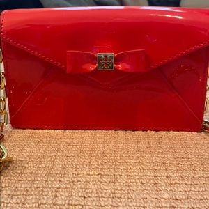 Tory Burch. Red and Gold Purse